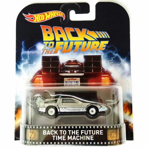 Hot Wheels Back to the Future HW Retro Entertainment DeLorean Time Machine Die-Cast Car