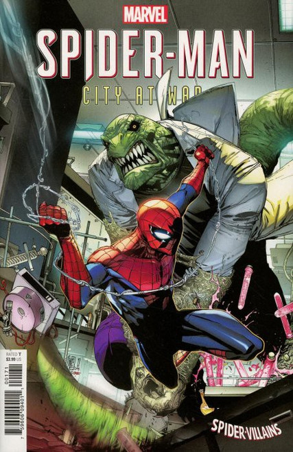 Marvel Comics Spider-Man City at War #1 of 6 Comic Book [Spider-Man Villians Cover]