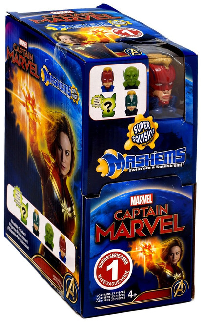 Mash'Ems Series 1 Captain Marvel Mystery Box [23 Packs]