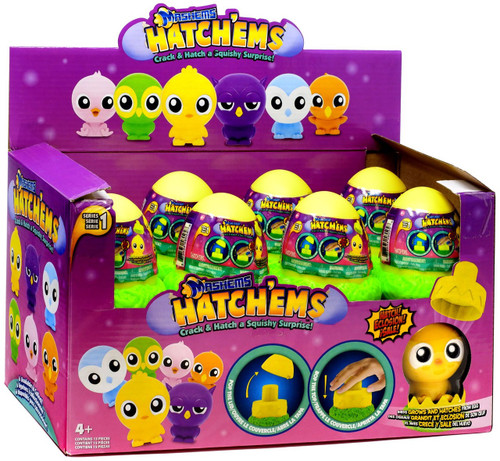 Mash'Ems Hatch'ems Series 1 Mystery Box [Birds, 15 Packs]