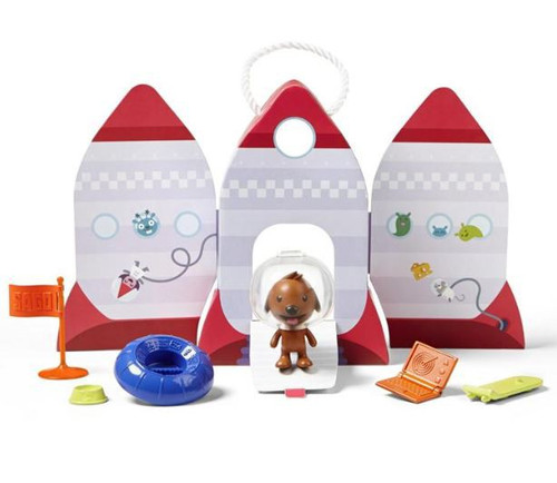 Sago Mini Harvey's Spaceship Portable Playset