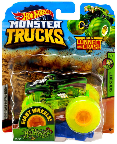 Hot Wheels Monster Trucks Hot Weiler Diecast Car #3/5 [Sick Stuff]