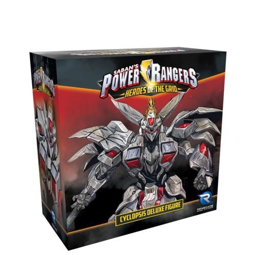 Power Rangers Heroes of the Grid Cyclopsis Deluxe Figure