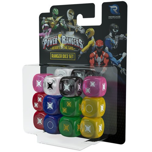 Power Rangers Heroes of the Grid Ranger Dice Set