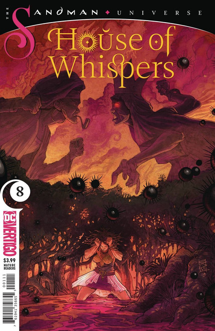 DC House of Whispers #8 The Sandman Universe Comic Book