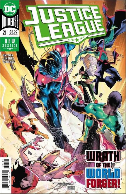 DC Justice League #21 Comic Book