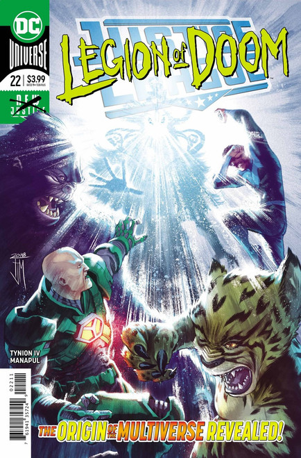 DC Justice League #22 Comic Book