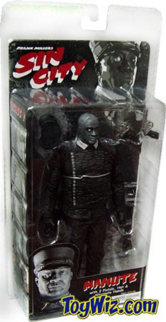 NECA Sin City Series 1 Manute Action Figure [Black & White]