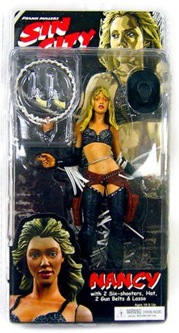 NECA Sin City Nancy Action Figure [Straight Hair]