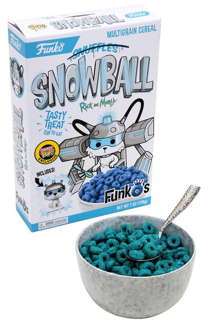 FunkO's Rick & Morty Snowball Exclusive 7 Oz. Breakfast Cereal