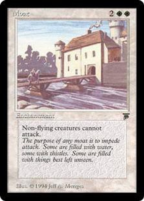 MtG Legends Rare Moat [Italian]