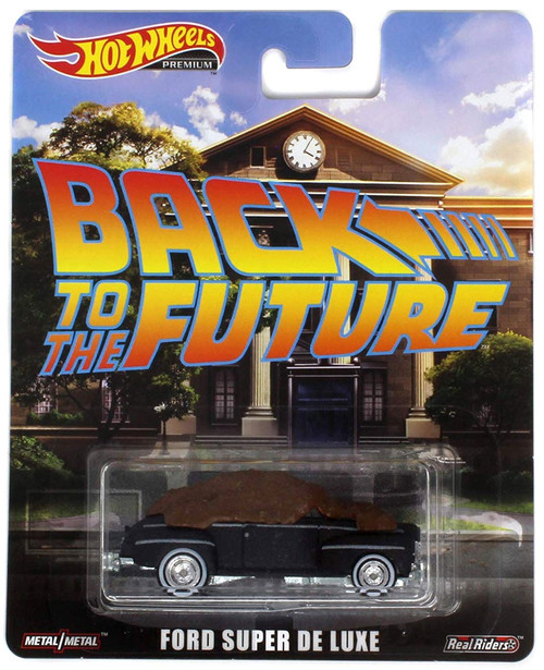Back to the Future Hot Wheels Real Riders Ford Super De Luxe Die-Cast Car [Manure]