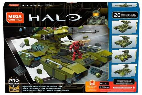 Halo Warzone UNSC Scorpion Tank Set [20-in-1]