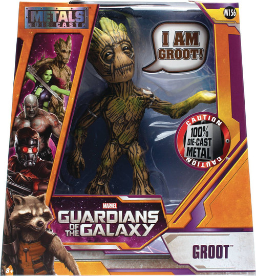 Marvel Guardians of the Galaxy Metals Groot Action Figure
