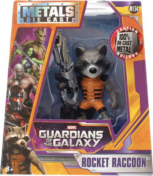 Marvel Guardians of the Galaxy Metals Rocket Raccoon Action Figure