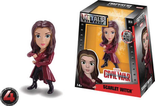 Marvel Civil War Metals Scarlet Witch Action Figure