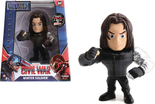 Marvel Civil War Metals Winter Soldier Action Figure