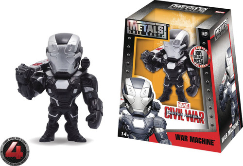 Marvel Civil War Metals War Machine Action Figure