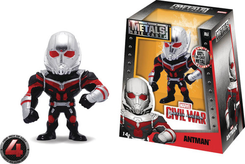 "Marvel Civil War Metals Antman Action Figure [4""]"