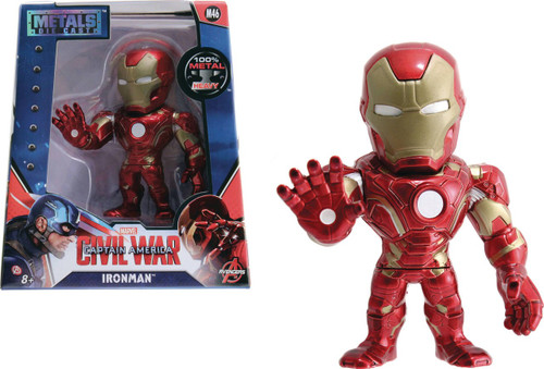 Marvel Civil War Metals Ironman Action Figure
