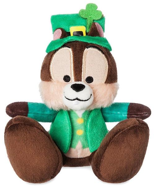 Disney Chip 'n Dale Tiny Big Feet Chip Exclusive 3.75-Inch Micro Plush [St. Patricks Day]