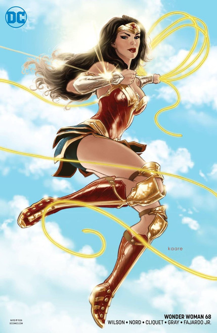 DC Wonder Woman #68 Comic Book [Kaare Andrews Variant Cover]