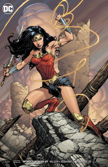 DC Wonder Woman #69 Comic Book [David Finch Variant Cover]