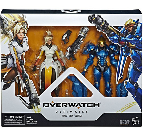 Overwatch Ultimates Mercy & Pharah Action Figure 2-Pack
