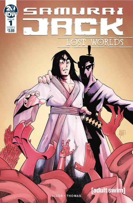 IDW Samurai Jack Lost Worlds #1 Comic Book