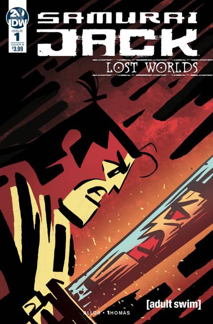 IDW Samurai Jack Lost Worlds #1 Comic Book [Adam Bryce Thomas Variant Cover]