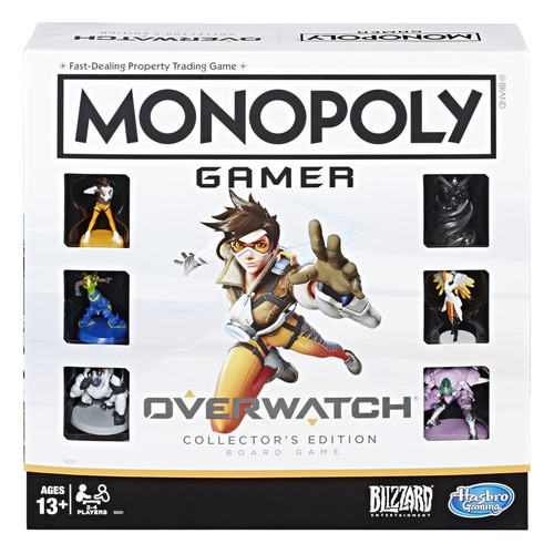 Monopoly Overwatch Board Game