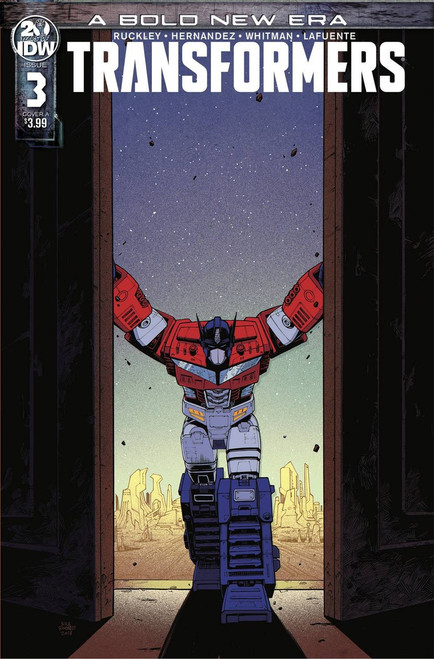 IDW Transformers #3 Comic Book