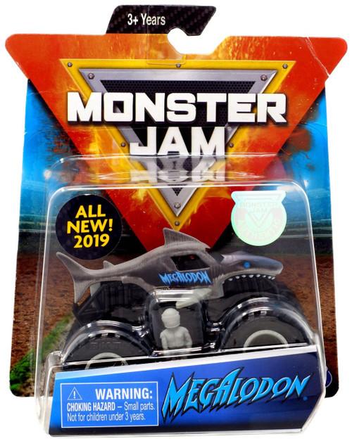 Monster Jam Megalodon Diecast Car [Gray]
