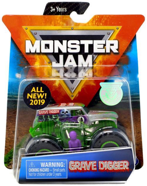 Monster Jam Grave Digger Diecast Car [Gray]