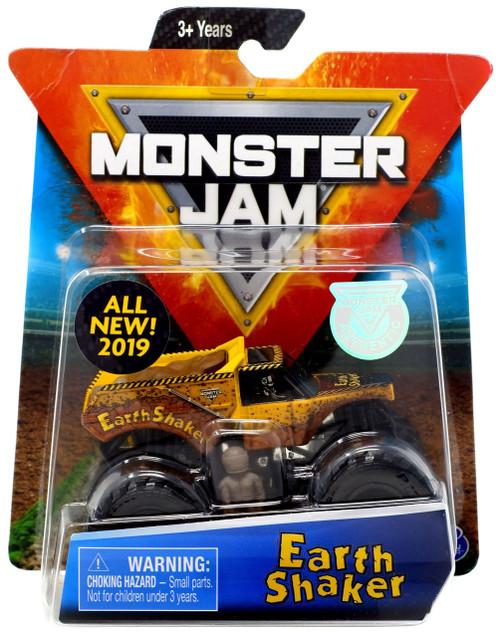 Monster Jam Earth Shaker Diecast Car [Yellow]