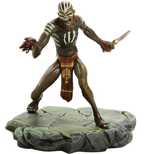Iron Maiden: Legacy of the Beast Shaman Eddie 4-Inch Collectible PVC Figure (Pre-Order ships November)