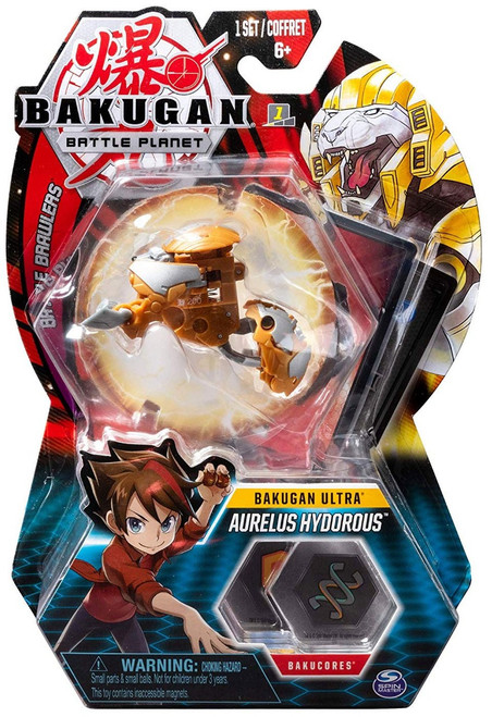 Bakugan Battle Planet Battle Brawlers Ultra Aurelus Hydorous