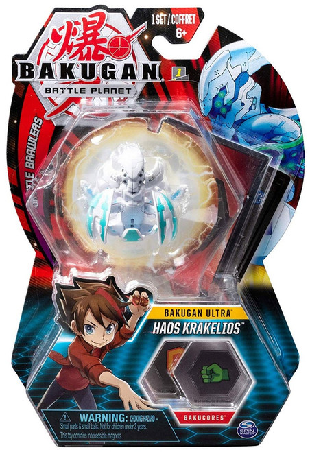 Bakugan Battle Planet Battle Brawlers Ultra Haos Krakelios