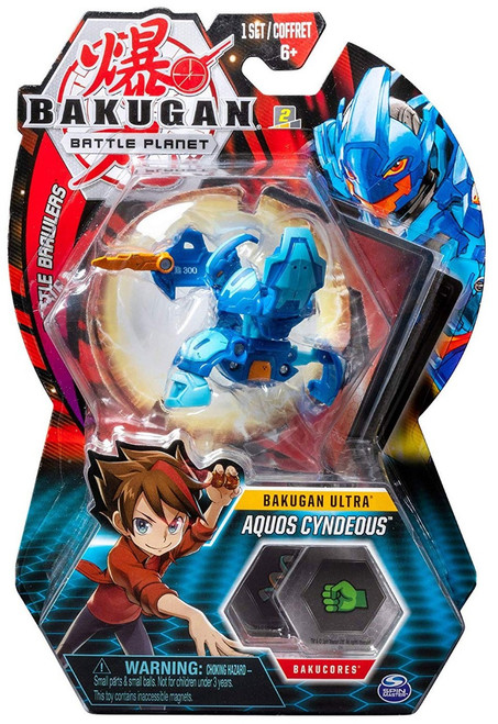 Bakugan Battle Planet Battle Brawlers Ultra Aquos Cyndeous