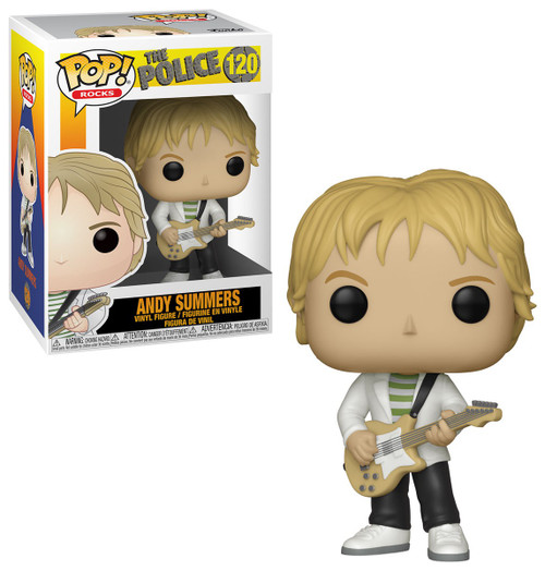 Funko The Police POP! Rocks Andy Summers Vinyl Figure
