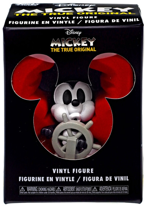 Funko Disney Mickey Mouse 90th Anniversary Mystery Minis Steamboat Willie Vinyl Figure
