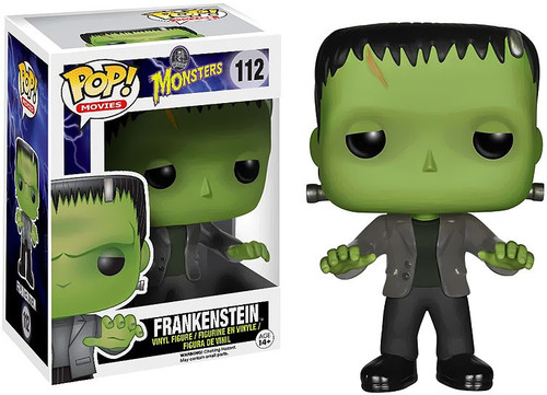 Funko Universal Monsters POP! Movies Frankenstein Vinyl Figure #112 [Damaged Package]