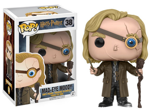Funko Harry Potter POP! Movies Mad-Eye Moody Vinyl Figure #38 [Damaged Package]