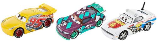 Disney / Pixar Cars Florida 500 Cruz Ramirez, Sheldon Shifter & Pat Traxson Die Cast Car 3-Pack [Loose]
