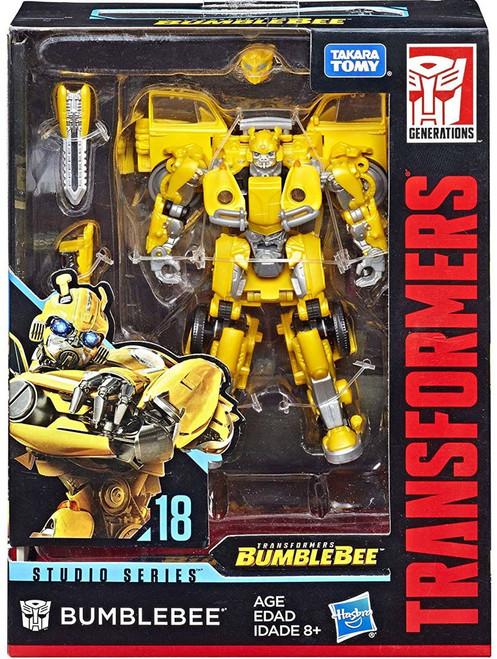 Transformers Generations Studio Series Bumblebee Deluxe Action Figure #18 [New Version, Loose]