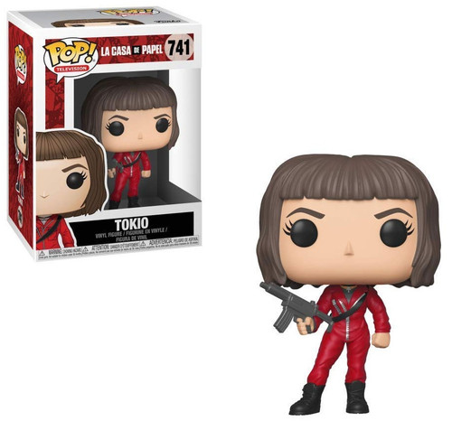 Funko Money Heist (La Casa De Papel) POP! TV Tokio Vinyl Figure #741 [Mask Off, Regular Version, Damaged Package]