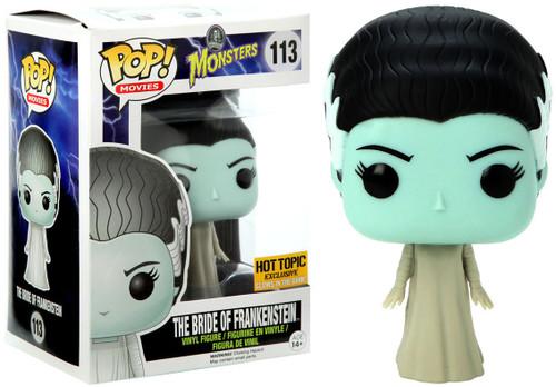 Funko Universal Monsters POP! Movies The Bride of Frankenstein Exclusive Vinyl Figure #113 [Glow in the Dark, Damaged Package]