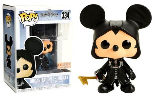 Funko Kingdom Hearts POP! Disney Organization 13 Mickey Exclusive Vinyl Figure #334 [Glow-in-the-Dark, Damaged Package]