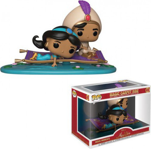 Funko Aladdin POP! Disney Magic Carpet Ride Vinyl Figure 2-Pack #480 [Movie Moments, Damaged Package]