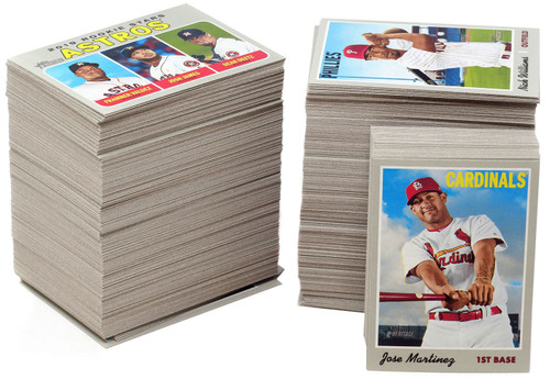 MLB Topps 2019 Heritage Baseball Trading Card Complete Hand Collated Set [400 Cards, No Short Prints]